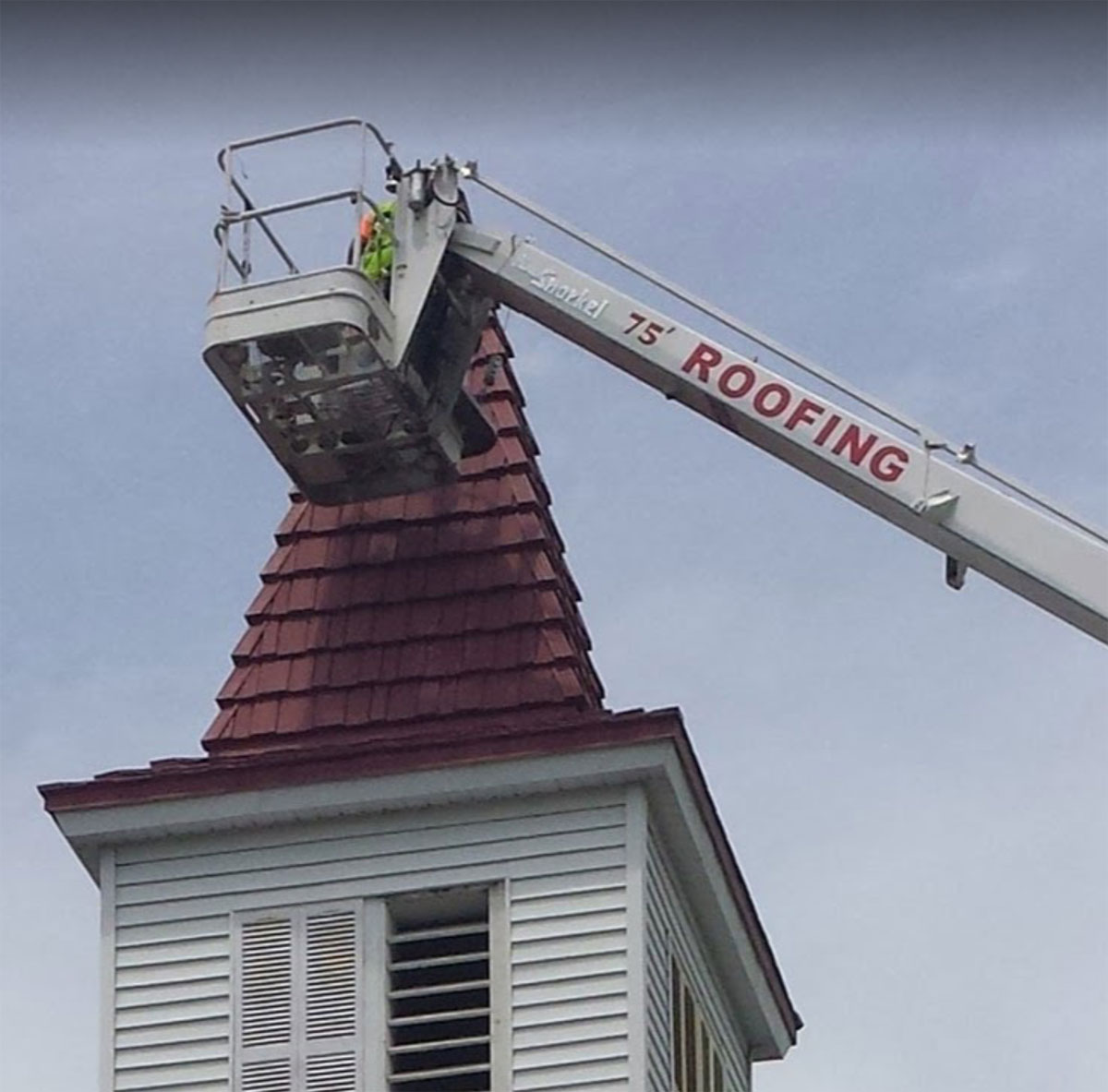 G.D. Fuller - Church Roof Project Elma, NY