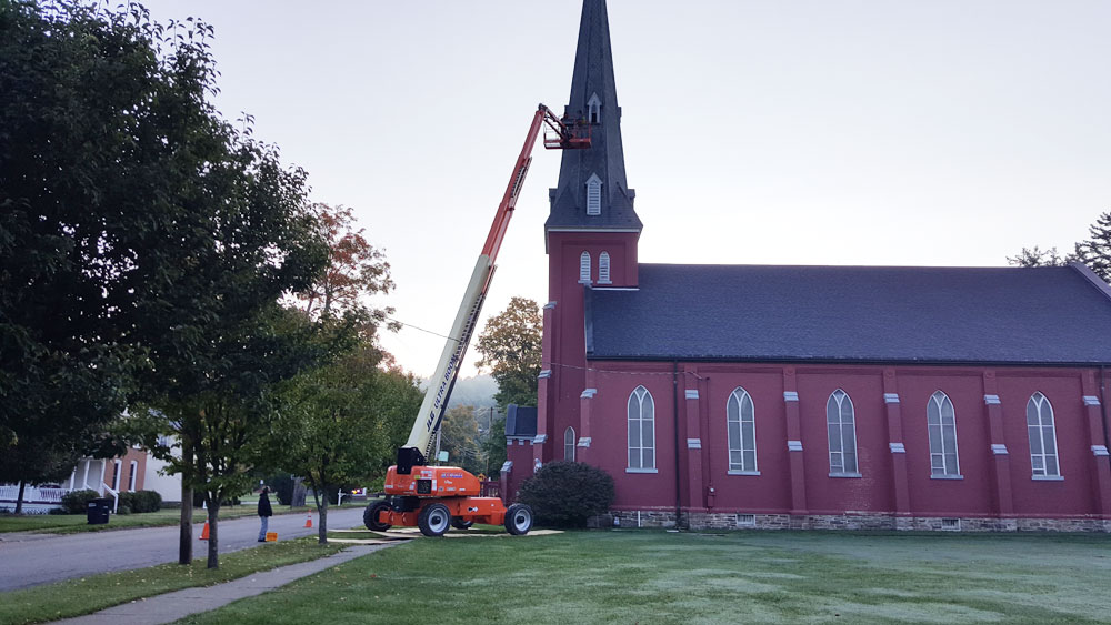 Church Roof Project - Andover, NY